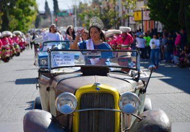 Colorido y espectacular desfile en Guadalupe