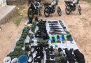 Guardia Nacional asegura armas, equipo Táctico y vehículos en Río Grande