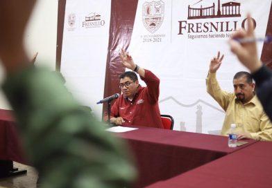 Por declaratoria de Emergencia, Comité en Fresnillo refuerzan y acuerdan nuevas Medidas Preventivas