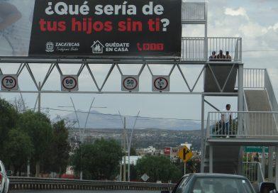 Con 35 nuevos casos de CORONAVIRUS empieza semana en Zacatecas
