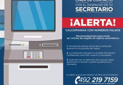 SSP alerta a Cuentahabientes para No caer en Fraudes