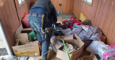 Ubican y destruyen campamento de la delincuencia organizada en Villa de Cos