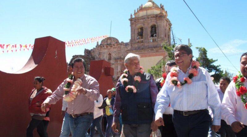"""Los Monreal… y su """"domingo 7"""" rumbo a la 4T."""