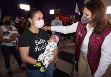 Propone Julia Olguín: Es el momento de recuperar la cercanía con la Gente
