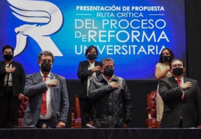 Juntos alcanzaremos la transformación social de Zacatecas con reforma de la UAZ, sostiene Gobernador