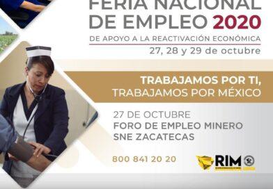 Ya viene Foro del Empleo Minero; ofertarán más de 250 Vacantes