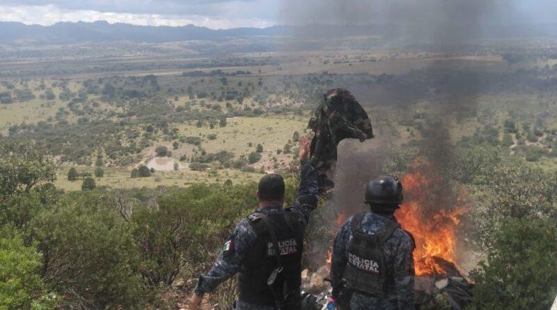 Otro golpe a delincuencia: desmantelan 2 campamentos más